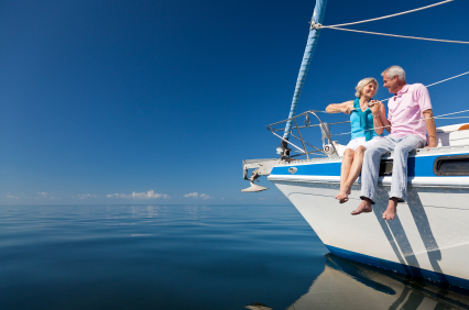 Retired Couple on Boat